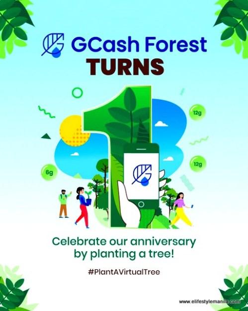 GCash GForest
