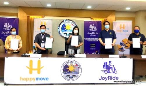 PLDT Enterprise, Joyride and Happy Move partnership