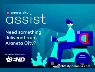 Araneta City Assist online delivery platform launched