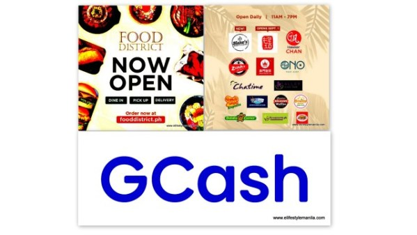 GCash and The Food District