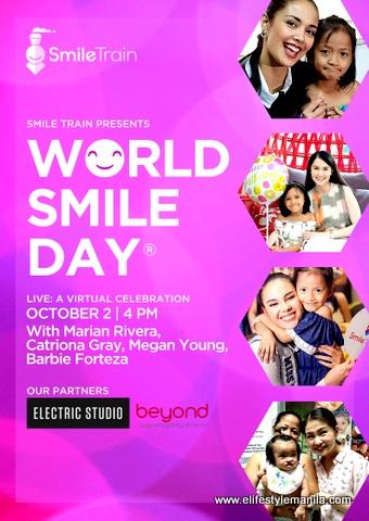 Smile Train Philippines world smile day