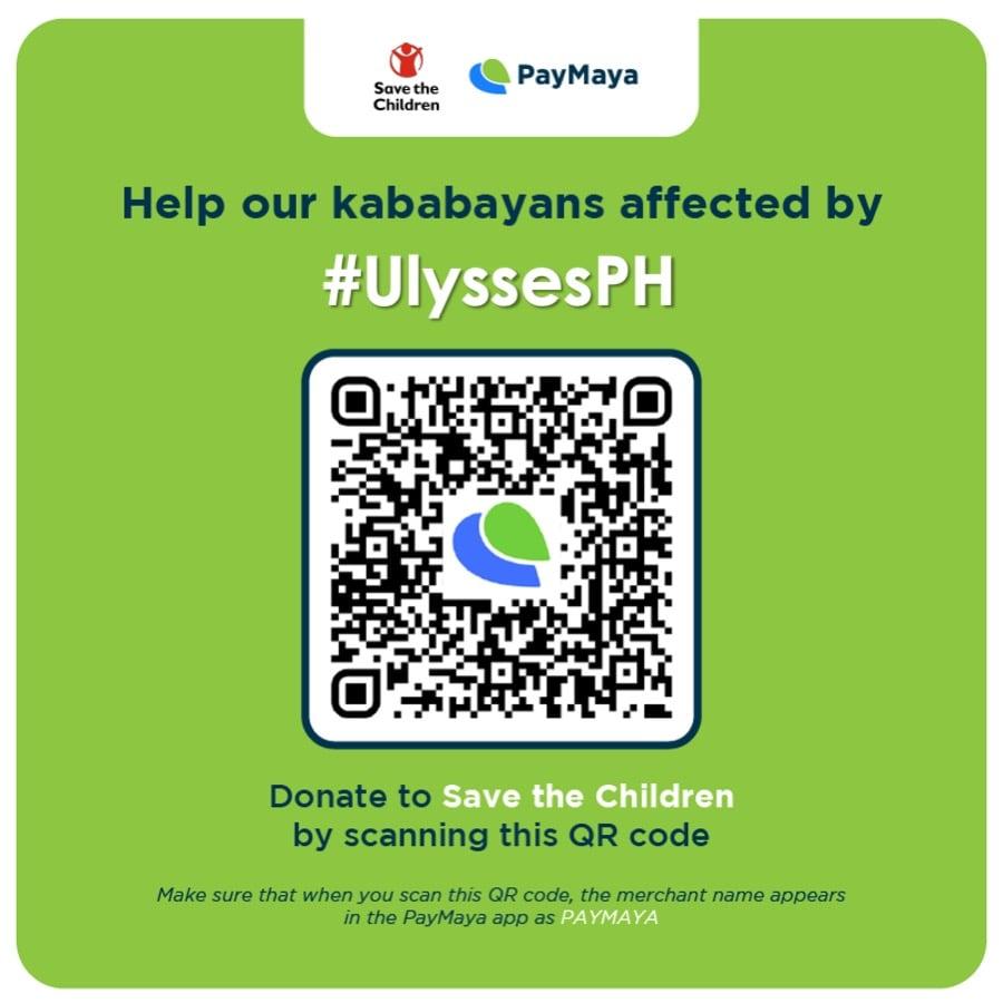 Paymaya Typhoon Relief