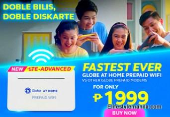 Globe at Home Prepaid WiFi kit