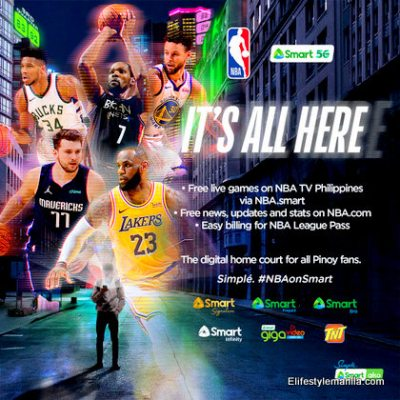 NBA on Smart Communications partnership for content