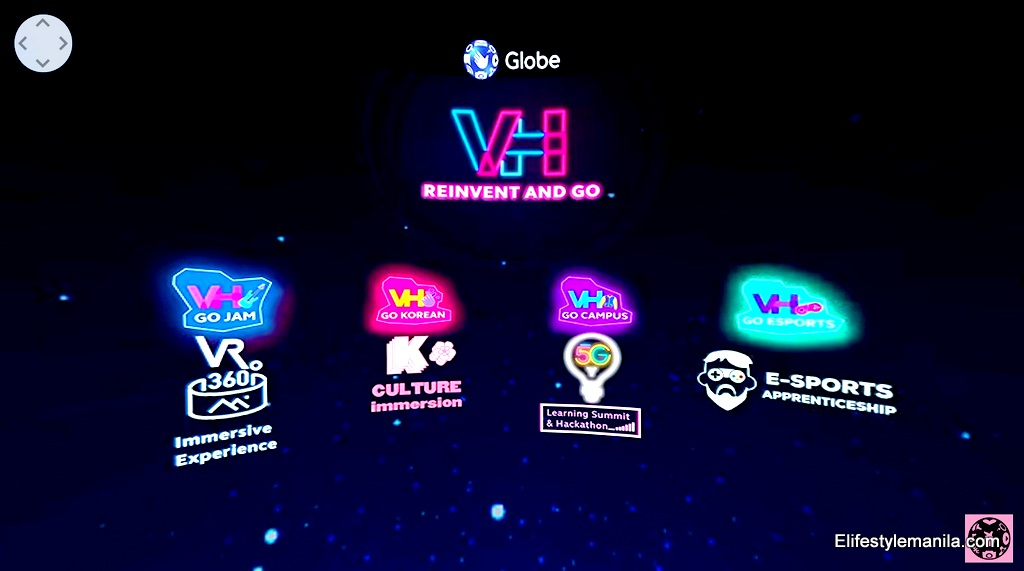 Globe virtual Hangouts