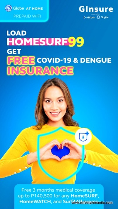 FREE Insurance with Covid-19 and dengue