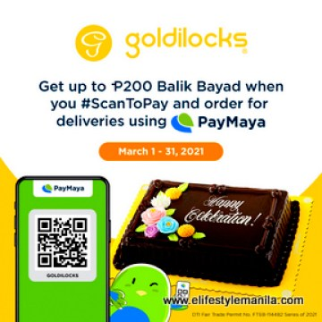 Get as much as P200 cashback