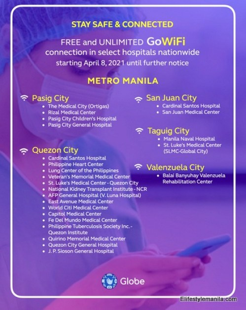Globe Telecom FREE Go WiFi