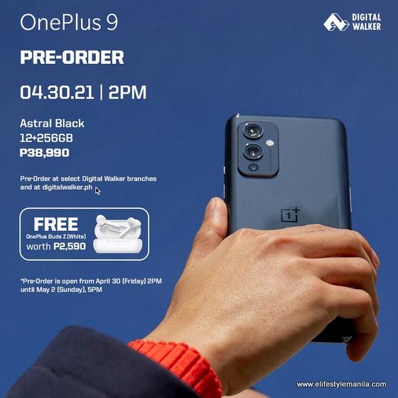 OnePlus 9 in Digital Walker
