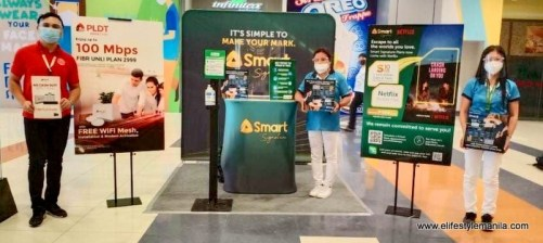 PLDT and Smart Communications