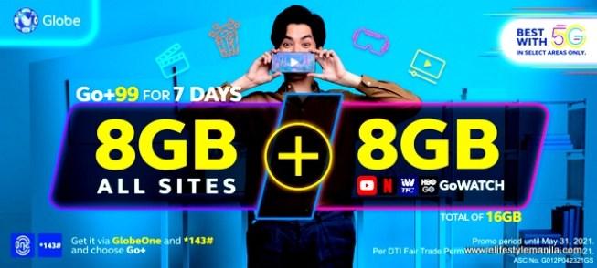 Globe Go+ Promos
