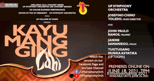Kayumangging Lahi by the UP Symphony Orchestra
