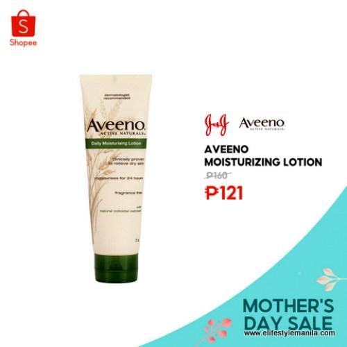 Aveeno moisturizing lotion