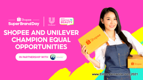 Shopee and Uniliver SAY YES to POSITIVE BEAUTY CAMPAIGN
