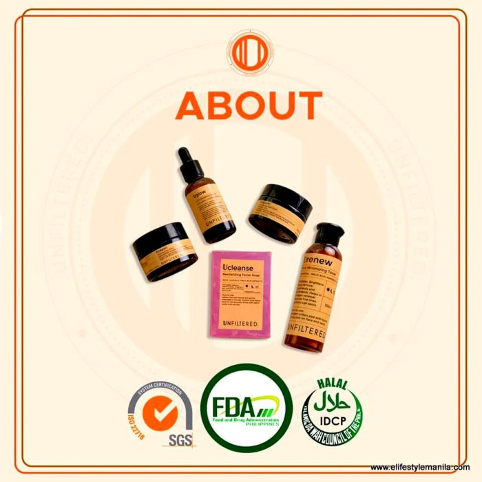 Unfiltered Skin FDA approved