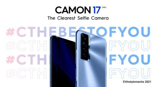 TECNO Mobile Camon 17