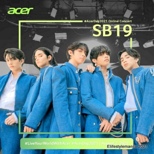 SB19 joins Acer Day on August 7