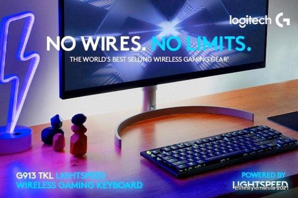 Logitech G TKL wireless RGB keyboard