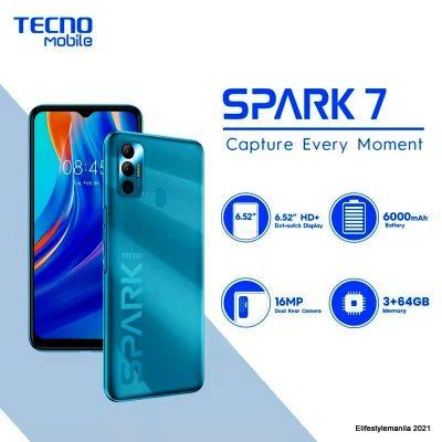 TECNO Mobile Spark 7