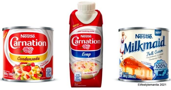 Nestle Carnation and Milkmaid
