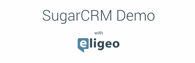 SugarCRM Weekly Demo – August 4th