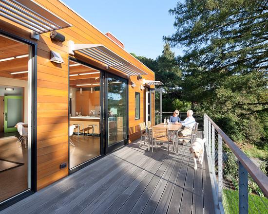 Modern Green Home Mill Valley Ca (San Francisco)