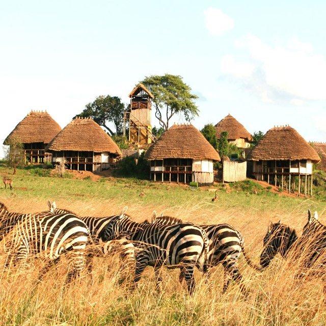 Apoka Lodge, Uganda, Africa
