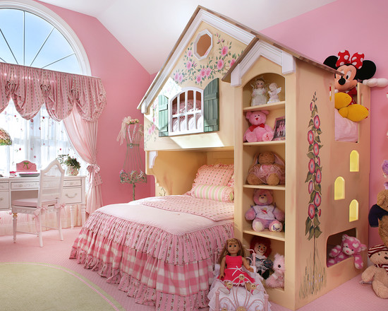 Fairytale Cottage Bunk Bed (Newark)