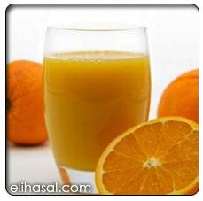 عصير برتقال بالصودا