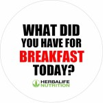 What did you have for breakfast