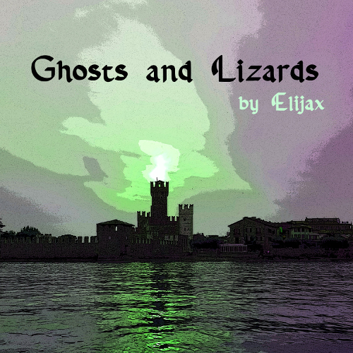 Ghosts and Lizards by Elijax - cover art by Emy Bernecoli