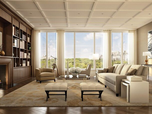 22 Central Park South Living Room 609x4571
