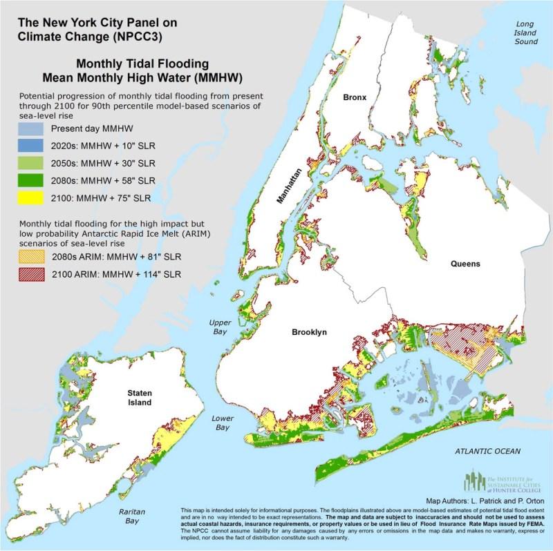Flood Zone NYC 2019