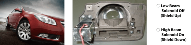 headlamp solenoid