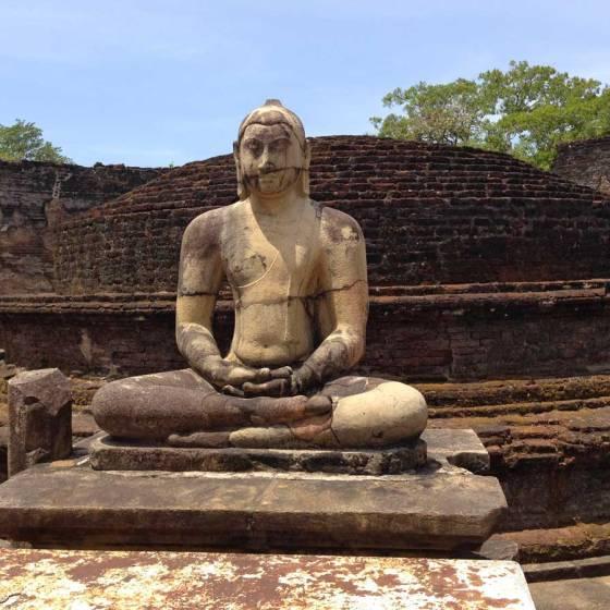 Sri Lanka Polonnaruwa Stupa Vatadage