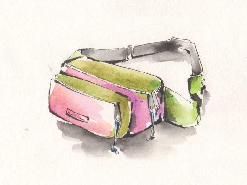 Marsupio disegno di Luca Braidotti