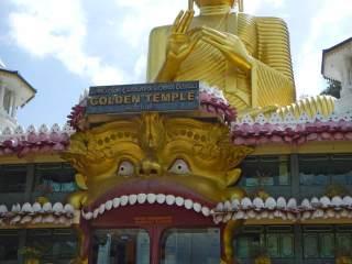 Sri Lanka Dambulla Tempio d'Oro