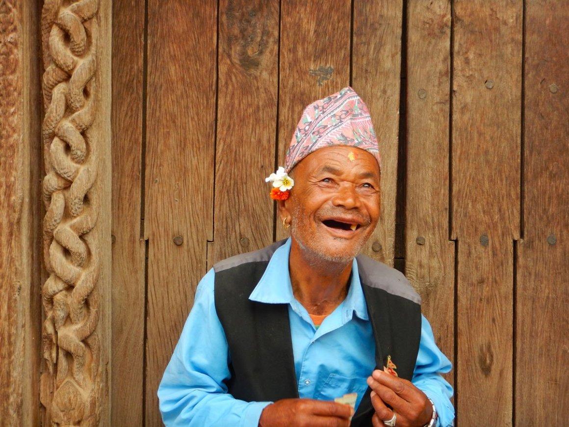 Patan, sorrisi senza denti in Nepal