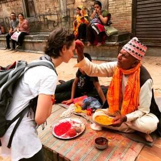 Elimeli, Elisa Malisan al festival Janai Purnima di Patan, Nepal