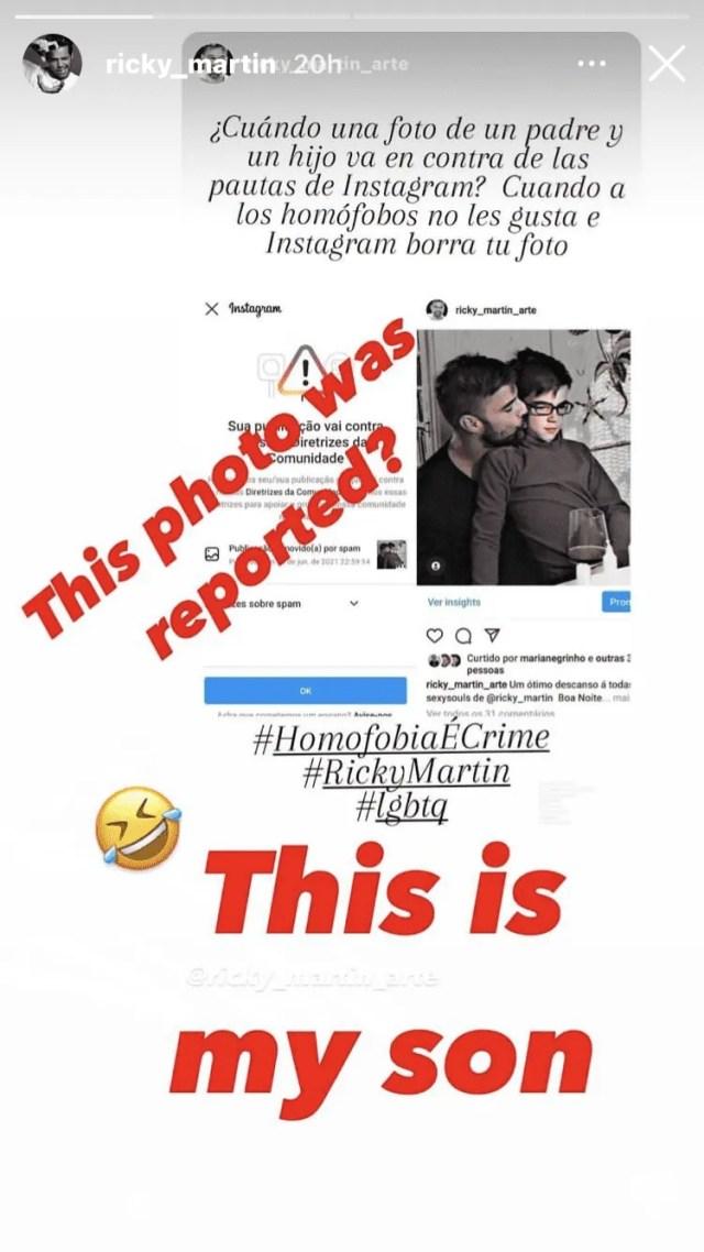 Ricky Martin fue censurado por Instagram | EL IMPARCIAL | Noticias de  México y el mundo