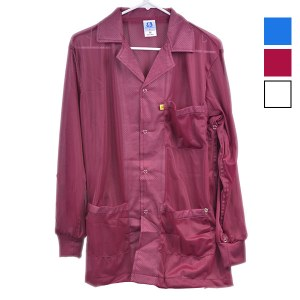 8812 Series Lightweight ESD Smocks with Dedicated Ground Sleeve