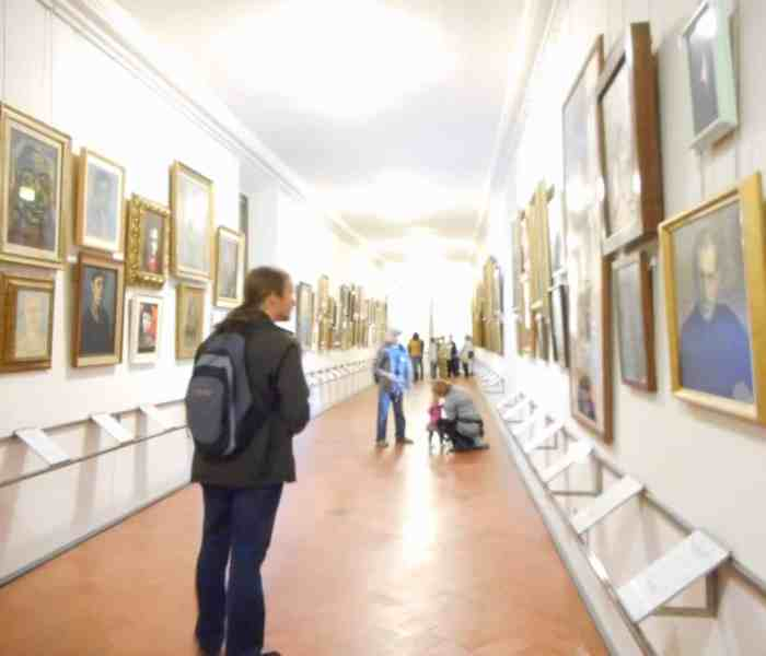 The Vasari Corridor – Part 3 – The Artists
