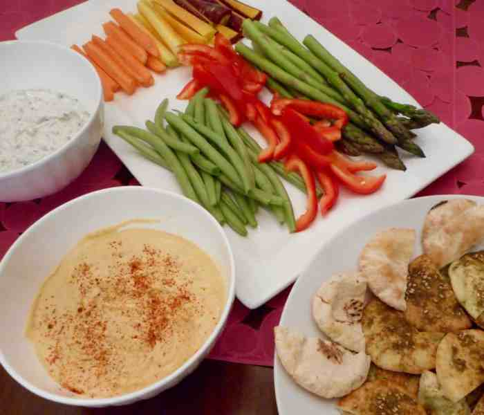 Middle Eastern Pre-Dinner Dips
