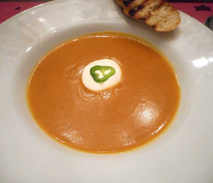 Sweet and Smokey Potato Soup