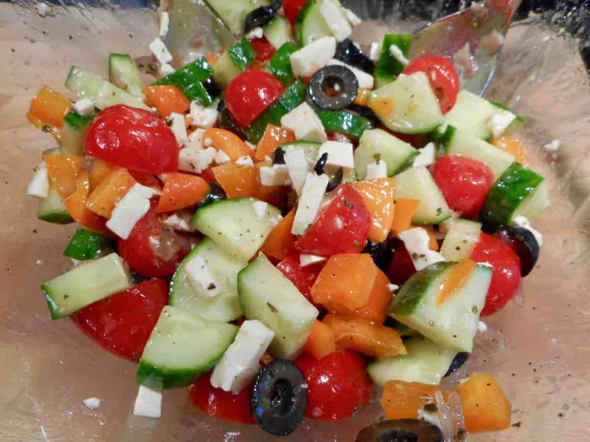 Greek Veggie Salad