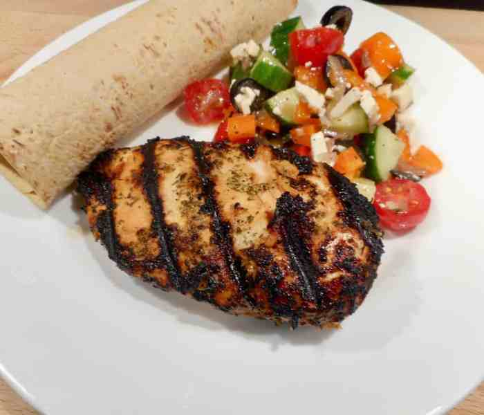 Fast Easy Mediterranean Chicken