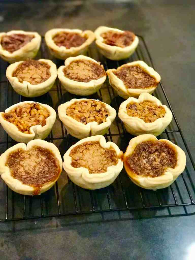Butter Tarts, out of the oven