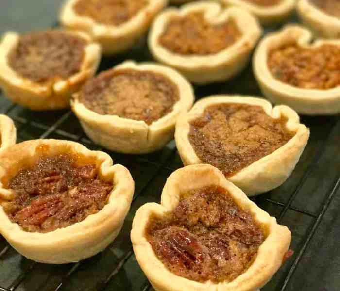 Butter Tarts 4 Ways
