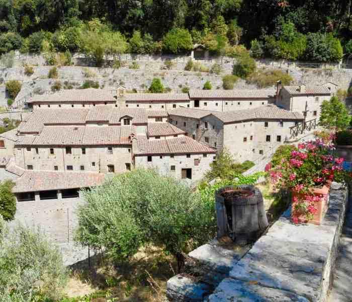 Le Celle Hermitage, Cortona, Italy