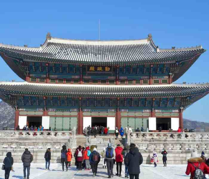 The Royal Palace – Gyeongbokgung